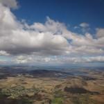 Flight in over Tasmania