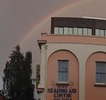 Rainbow over Hobart