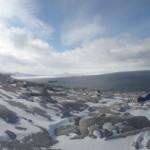 100 years on from Scott: The author, Terra Nova Bay, Antarctica