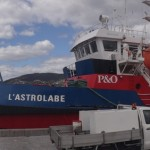 L'Astrolabe - in a calm state at port