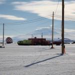 Mount Erebus towering over McMurdo
