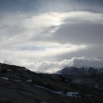 Mysterious sky; Pre blizzard