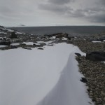 Hammered snow