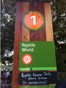 Reptile World - Taronga Zoo