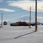 Mount Erebus towering over McMurdo