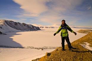 Mount Melbourne and Terra Nova Bay, Antarctica