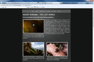 Ben Macdonald - Mount Roraima - The Lost World