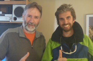 Me and Anthony Powell, McMurdo, January 2012 (Photo by Christine Powell)