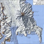 Map of Mount Melbourne