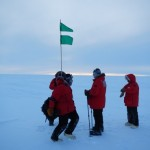 Trip to locate the exact position of Amundsen's tent position at the South Pole