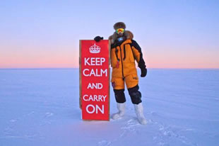 Celebrating the Queen's Jubilee in Antarctica