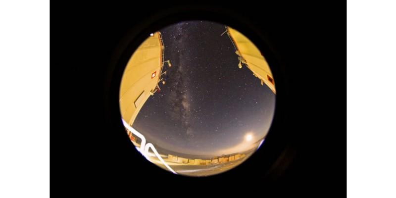 Milky Way Galaxy (Night Sky at 0130 am, Concordia Research Station Antarctica)