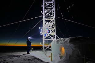 Climbing one of Antarctica's highest towers