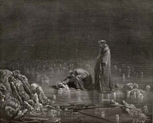 Dante on ice, Canto 32