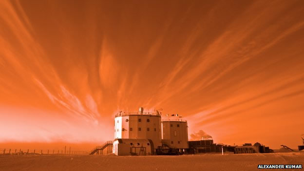 Research at remote outposts such as Concordia may yield lessons for future missions to