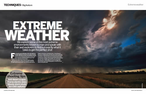 Digital Photographer - Extreme Weather