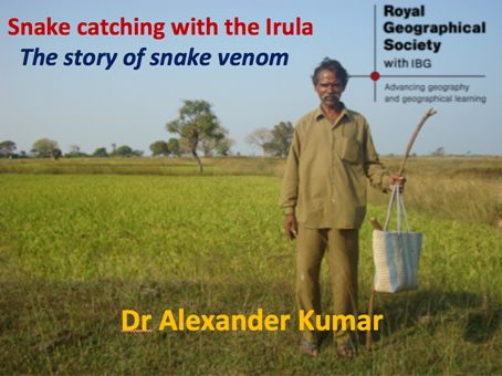 Royal Geographical Society - The Story of Snake Venom