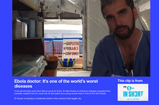 BBC News - Ebola doctor: It's one of the world's worst diseases