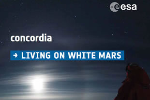 living on white mars