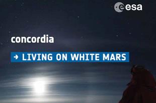 living on white mars