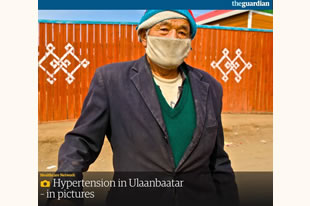 Hypertension in Ulaanbataar