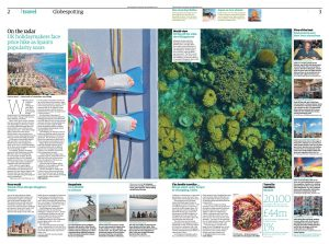 The Guardian - Travel Section (in Print)