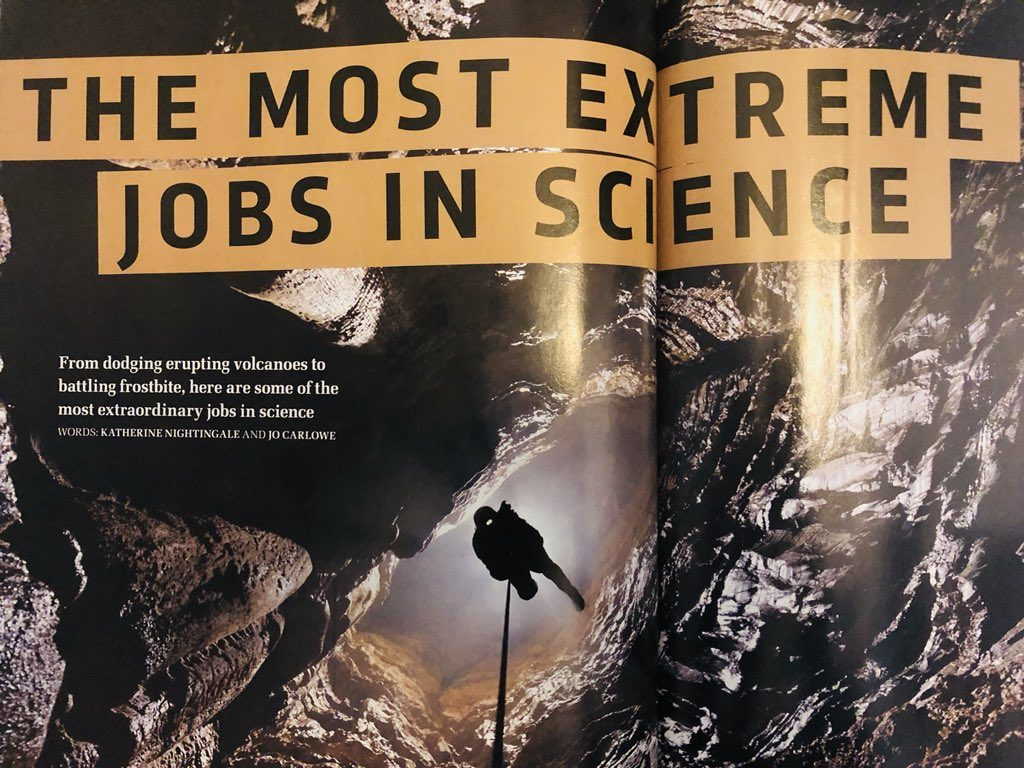 BBC - The most extreme jobs in science